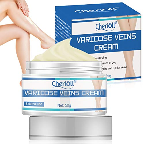 Varicose Veins Cream, Varicose Vein Treatment, Improves Varicose Veins and Spider Veins, Improves the Appearance of Leg, Relieves Varicose Vein Discomfort, Pain, Strain(50g)