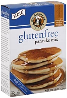King Arthur Flour - Gluten Free Pancake Mix, Kosher, 15 oz (Pack of 5) by King Arthur Flour