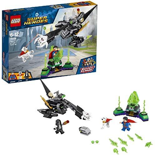 LEGO Super Heroes - Superman y Krypto: Equipo de Superhéroes, Juguete de Construcción, Incluye MiniFigura de Lobo (76096)