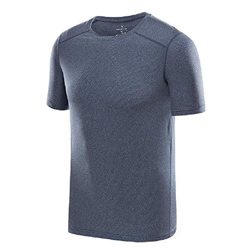 Schnelltrocknendes T-Shirt für Herren und Damen Kurzärmliges XL-Paar-Kulturhemd mit kurzen Ärmeln sowie fettige, atmungsaktive, schnell trocknende Sommerkleidung für Sportmannschaften
