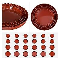 フラワーポットトレイ 10個入りポットトレイグリーン植物人工カラフルなプラスチック工場フラワーポットホームオフィスインテリアプランター Sunの保護と耐久性 (Color : White 19cm)