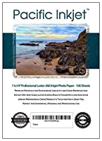 Pacific Inkjet - Professional Luster Inkjet Paper (11-x-14-inch) [並行輸入品]