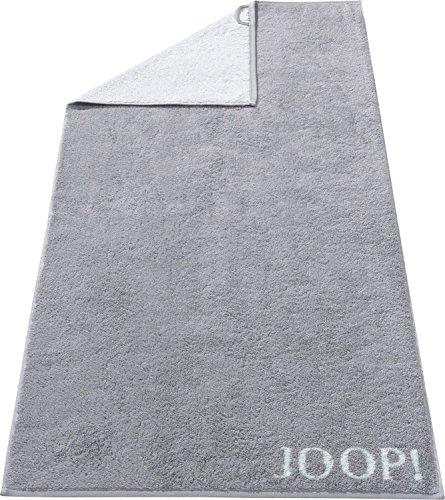 Joop! Saunatuch Classic Doubleface 1600 | 76 Silber - 80 x 200