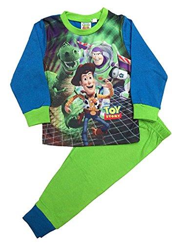Disney Toy Story Buzz Lightyear Schlafanzug lang, Gr. 18 Monate bis 5 Jahre Gr. X-Small, grün