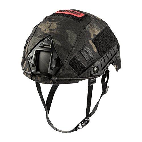 OneTigris PJ - Casco táctico para airsoft paintball con funda para casco,...