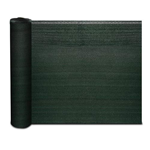 Floordirekt Zaunblende Marius | Schattiergewebe 150g/m² in 5 Höhen mit Befestigungszubehör | Sonnenschutz Sichtschutz Windschutz (1m x 6m)
