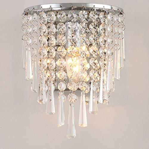 Tiiurxxydd Luz Moderna De Cristal Moderno De La Pared del Dormitorio del Hogar Bar Aplique Iluminación De La Lámpara De Interior del Accesorio De Estar Decoración De La Habitación