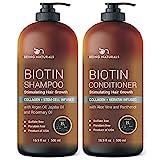 Best Anti Hair Loss Shampoos - Biotin StemCell Shampoo Conditioner Set - Anti Hair Review