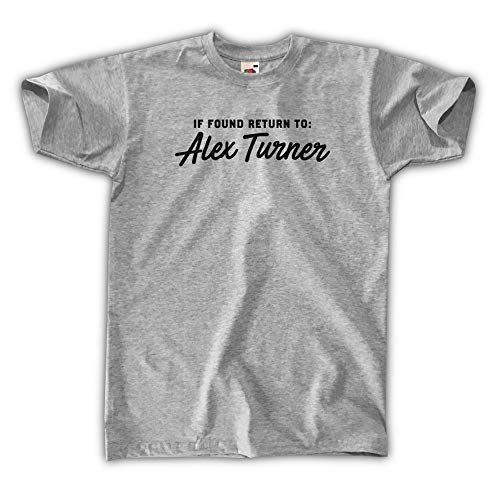 Outsider. If Found Return To Alex Turner Camiseta para Hombre Unisex