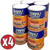 CEYS - Pack Cola de contacto Contactceys 1 litro Ceys Kabra (4 bote cola de impacto para uso general)