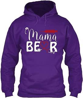 teespring Men's Mama Be R - Sweatshirt - Gildan 8Oz Heavy Blend Hoodie