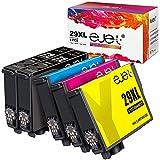 5er-Pack ejet Kompatible Tintenpatronen als Ersatz für Epson 29 29XL für Expression Home XP-235 XP-245 XP-247 XP-332 XP-335 XP-342 XP-345 XP-432 XP-435 XP-442 XP-445(2Schwarz/Cyan/Magenta/Gelb)