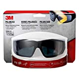3M Anti-Fog Polarized Impact-Resistant Safety Glasses Black Lens Black Frame 1 pc.