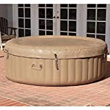 ZRXRY Inflatable Hot Tub, Inflatable Bath Tub, Inflatable Spa, 2 Person, Tan