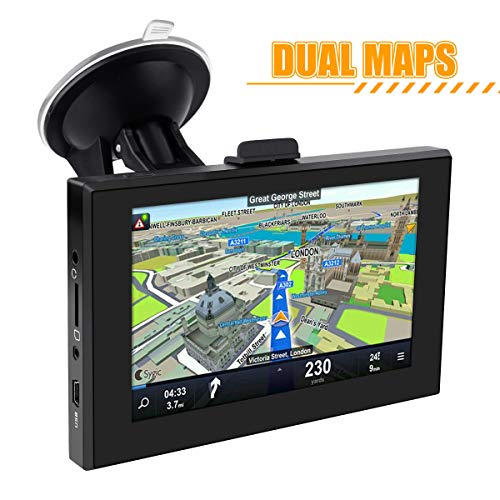 GPS Navigation Android System, Tooca 5 inch Double Din Android Car Navigation Stereo - WiFi Internet,Support 256G SD &More