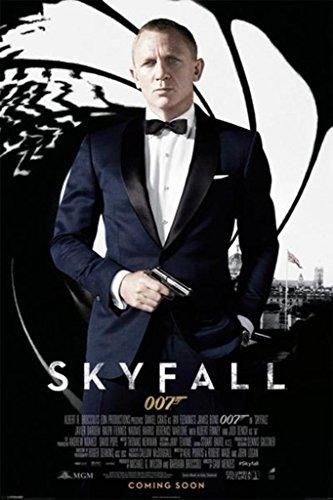 James Bond - Skyfall One Sheet Poster Drucken (60,96 x 91,44 cm)