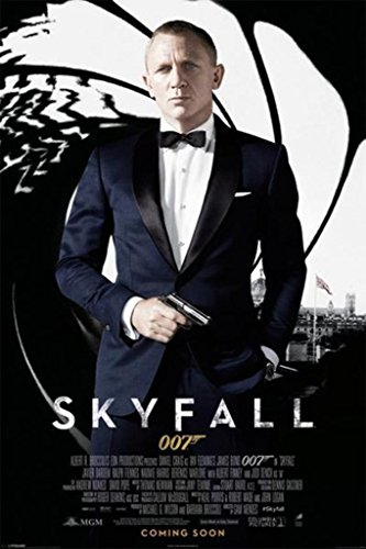 James Bond - Skyfall One Sheet Poster Drucken (60,96 x 91,44 cm)