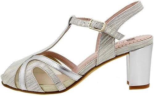 Sandales Confortables pour Femme avec Talon 8259
