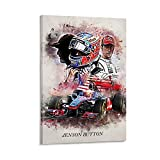 YGKE Jenson Button Poster dekorative Malerei Leinwand