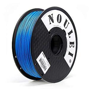 Noulei filamento stampante 3d, PLA 1.75 filamenti per stampa 3D, 1 kg per bobina, Blu