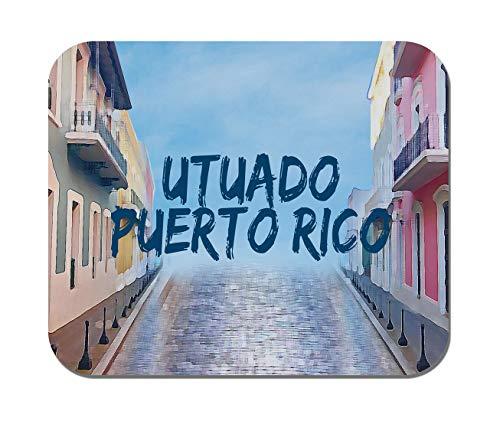 Makoroni - Utuado Puerto RICO Puerto Rican - Puerto Rico- Non-Slip Rubber - Computer, Gaming, Office Mousepad