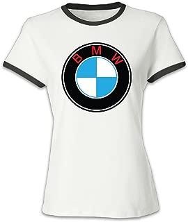 Women's BMW Logo Baseball T-Shirt Black