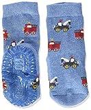 Sterntaler Baby Jungen Sterntaler Glitzer-flitzer Air Sterne Socks, Mittelblau Mel., 22 EU