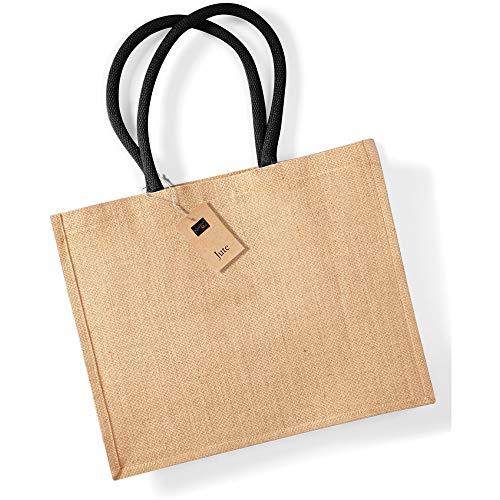 Westford Mill , Damen Tote-Tasche Elfenbein Naturfarben / Schwarz