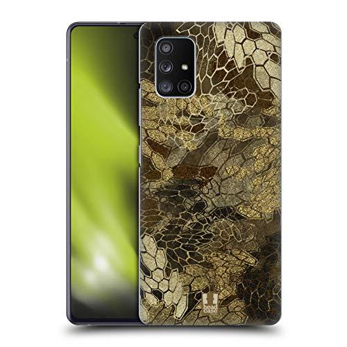 Head Case Designs Vue De Vol du Canard Et De La Sauvagine Chasse Au Camouflage Coque Dure pour l'arrière Compatible avec Samsung Galaxy A51 5G (2020)