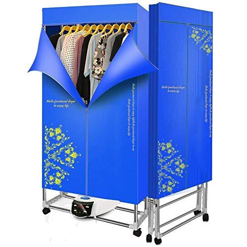 Secadora de ropa del hogar 1500W eléctrico portátil plegable de lavandería secado Panel de 300 libras rápidos Secador de bebé Secadora de ropa multifunción Secado Armario con sincronización automática