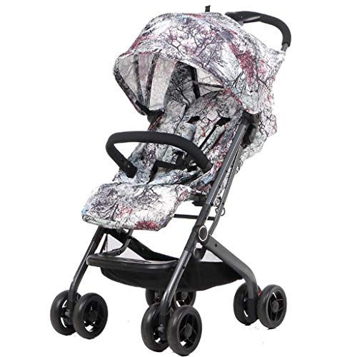 Check Out This Mmet Infant Baby Stroller for Newborn and Toddler Carriage High Landscape Can Sit Hor...