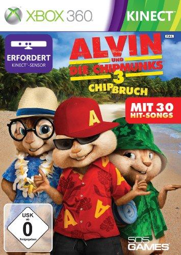 Alvin und Die Chipmunks 3 - Chip Bruch (Kinect) - [Xbox 360]