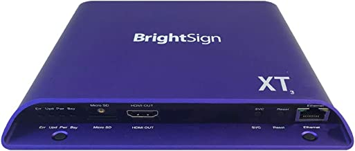 BrightSign XT243 | 4K Dual Video Decode Standard I/O Player
