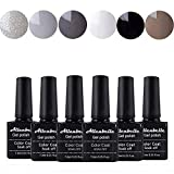 Annabelle Smalto Semipermanente Nail Polish UV LED Gel Unghie (Kit di 6 pcs 7.3ML/pc) 007