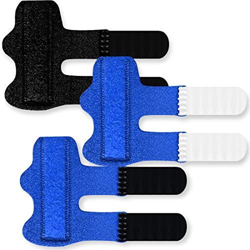 3 Pack Trigger Finger Splint Brace, Adjustable Fixing Belt