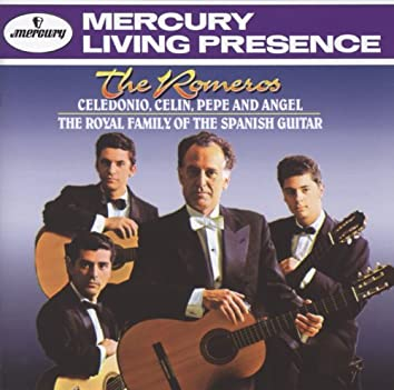 The Romeros - Celedonio, Celin, Pepe and Angel -The Royal Family of the Spanish Guitar