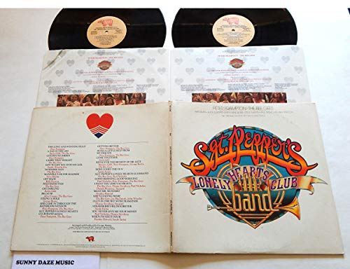 Original Movie Soundtrack Sgt. Pepper's Lonely Hearts Club Band - RSO Records 1978 - One Used Double Vinyl LP Record Album - 1978 Pressing RS2-4100 - Bee Gees - Aerosmith - Peter Frampton