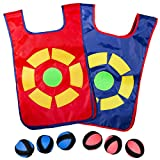 CC O PLAY Ultimate Dodgeball Game for Kids   2-Player Set 2 Vests and 6 Dodge Balls   Great Indoor and Outside Dodge Tag Game   Fun Gift for Boys and Girls 6+ Years