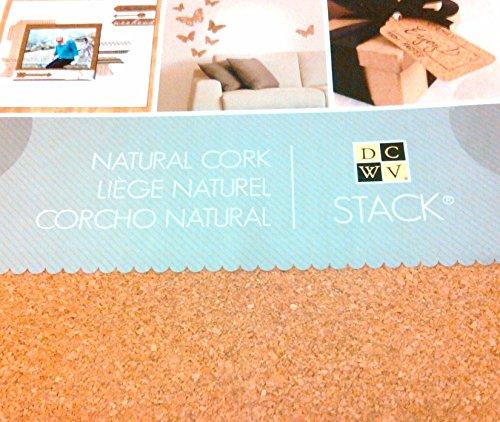 Cork, Natural 12' X 12' Sheets, 1/32' Thick, 16 Sheets/pack