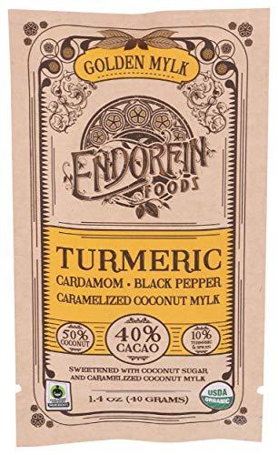 エンドルフィンフーズ ゴールデンミルク カカオ40% ダークチョコレート ビーントゥバー チョコレート