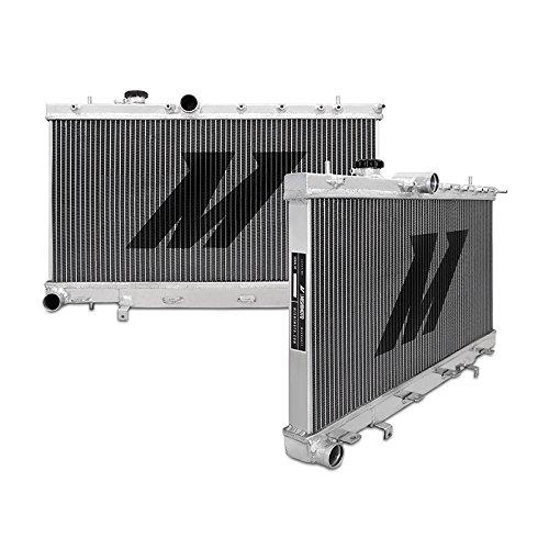 Mishimoto MMRAD-WRX-01 Rendimiento Aluminio Radiador Compatible con Subaru WRX/STI 2001-2007 Silver