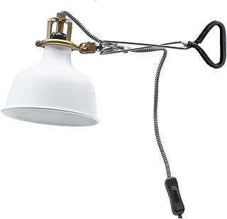Ikea Clamp Wall Lamp Led (Bulb Included) Off-White Ranarp