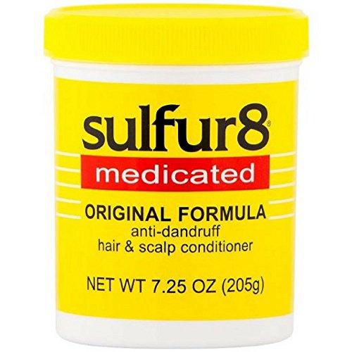 Sulfur8 Medicated Anti-Dandruff Hair and Scalp Conditioner Original Formula, 7.25 oz (Pack of 2)