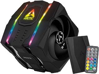 ARCTIC Freezer 50 (con Controller A-RGB) - Dissipatore CPU con A-RGB a Doppia Torre Multicompatibile con AMD e Intel, 2 Ve...