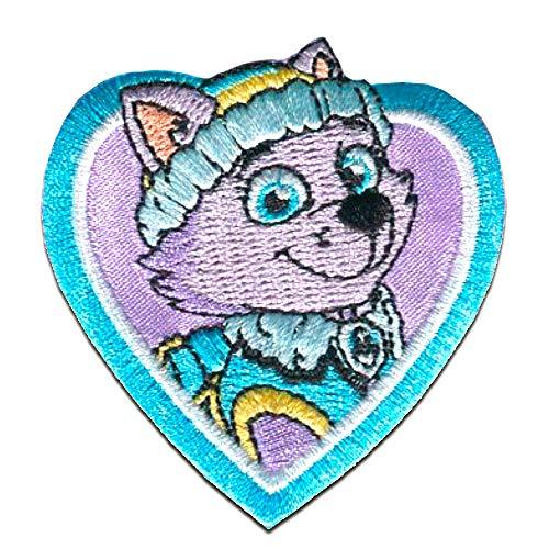 Parches - Patrulla Canina 'Everest' - púrpura - 6x6cm
