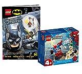 Lego 76172 - Juego de cartas Lego, diseño de Spiderman y Sandman