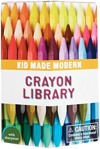 Kid Made Modern Crayon Library 60 Ct, 1 EA