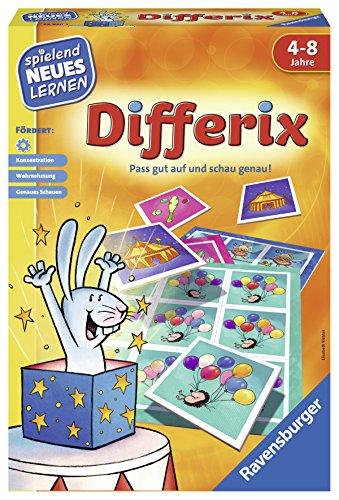 Ravensburger 24930 - Differix - Spielen und Lernen für Kinder, Lernspiel für Kinder von 4-8 Jahren, Spielend Neues Lernen für 1-4 Spieler