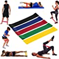 Sinwo Resistance Exercise Loop Bands Workout Bands Stretch Bands Home Equipment Training