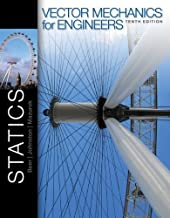 Vector Mechanics for Engineers: Statics by Beer, Ferdinand, Johnston, Jr., E. Russell, Mazurek, David 10th (tenth) Edition [Hardcover(2012)]